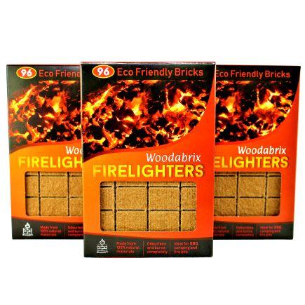 Woodabrix firelighters cubes 288