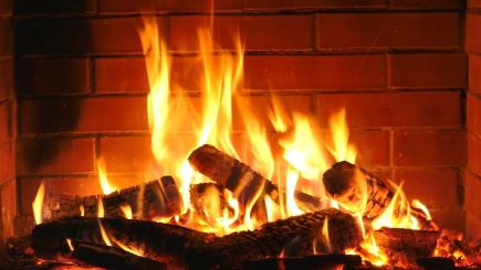 safe fire with firelighters