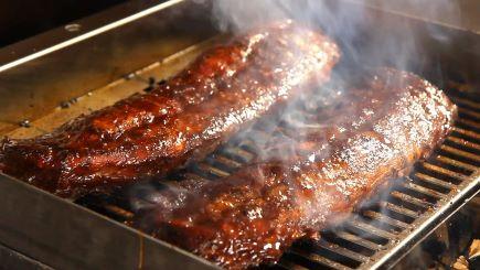 Woodabrix chips rack of ribs